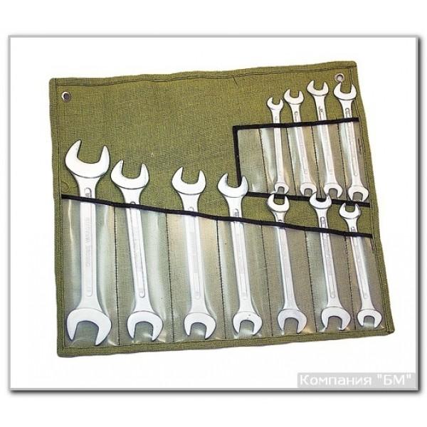 Набор ключей рожковых КГД 12 СУМКА купить в Арзамасе