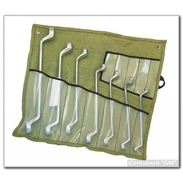 Набор ключей накидных коленчатых 8 шт. купить в Арзамасе