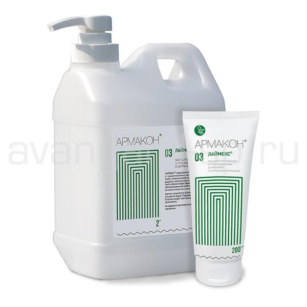 """Паста очищающая для мытья сильнозагрязненных рук  """"Лаймекс"""" (200 мл.) купить в Арзамасе"""