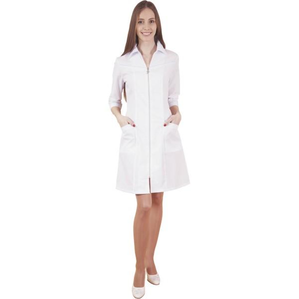 Халат медицинский женский М-010 (тиси) купить в Арзамасе