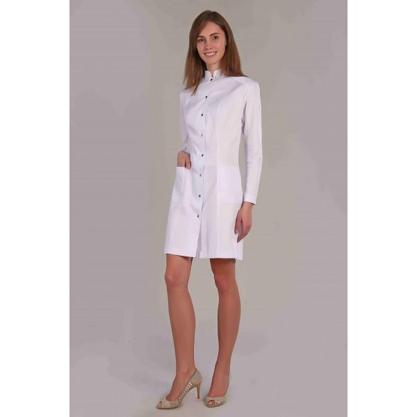 Халат медицинский женский М-061 (элит-145) купить в Арзамасе