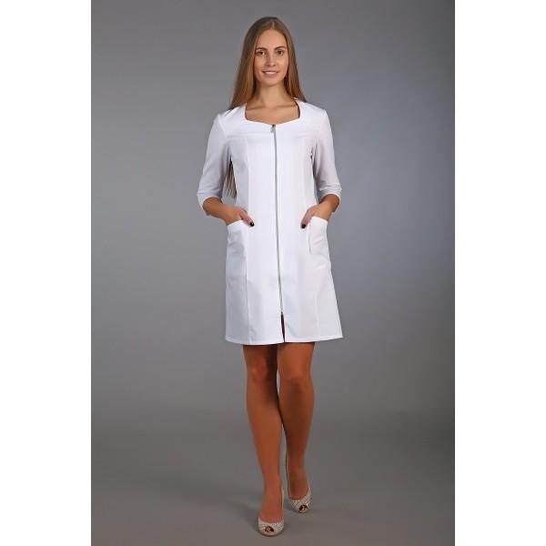 Халат медицинский женский М-09 (тиси) купить в Арзамасе