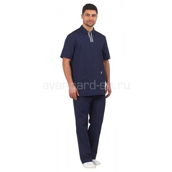 Комплект мужской Аура (темно-синий) купить в Арзамасе