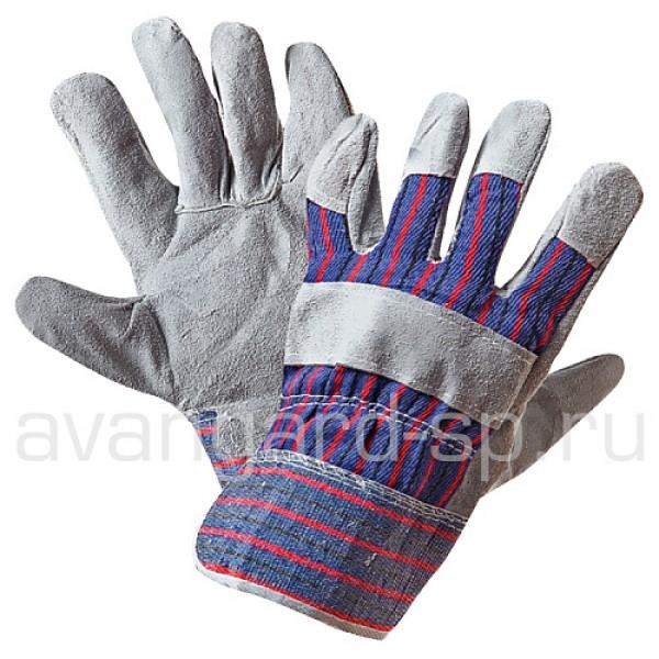 """Перчатки """"Ангара"""" спилковые комбинированные купить в Арзамасе"""