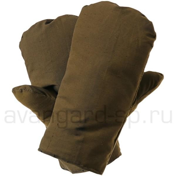 Рукавицы утепленные (искусственный мех) купить в Арзамасе