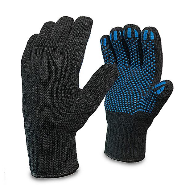Перчатки утепленные п/ш двойные с ПВХ купить в Арзамасе