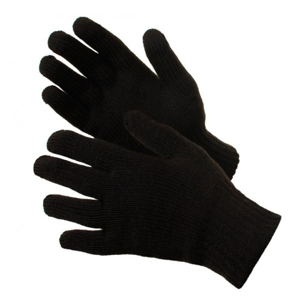 Перчатки утепленные п/ш черные купить в Арзамасе