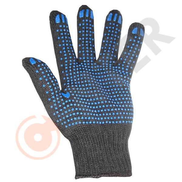 Перчатки утепленные п/ш с ПВХ черные купить в Арзамасе