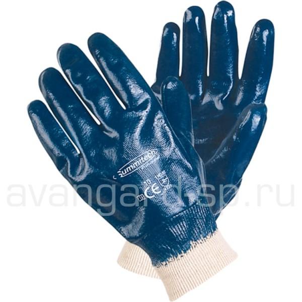 Перчатки нитриловые полное покрытие, мягкий манжет купить в Арзамасе