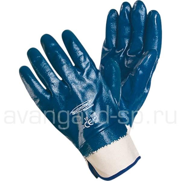 Перчатки нитриловые полное покрытие, краги купить в Арзамасе