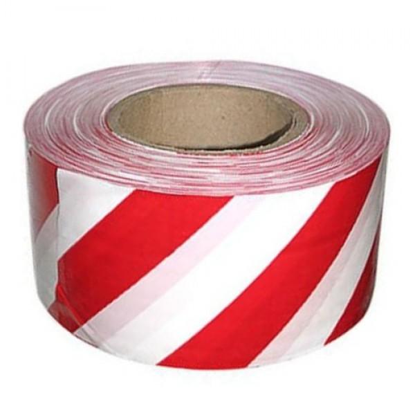 Лента оградительная бело-красная 75 мм купить в Арзамасе
