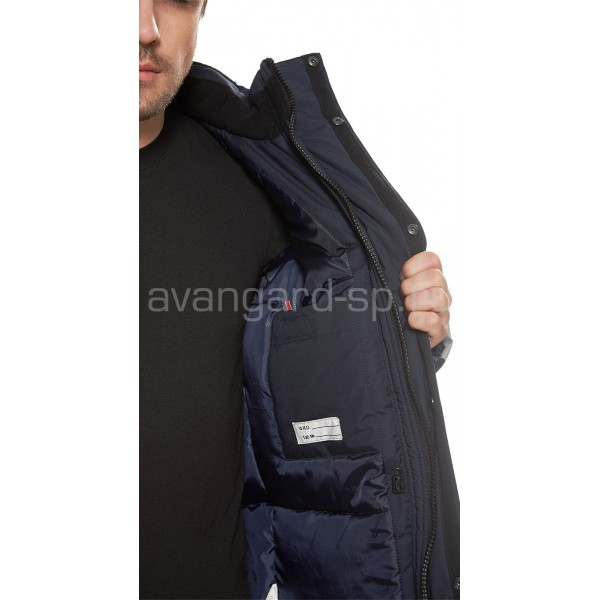 Куртка утепленная Челленджер (сине-серая) купить в Арзамасе